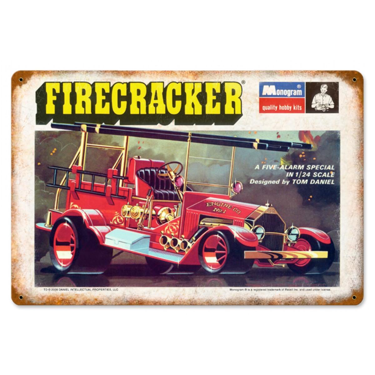 Firecracker - Metal Signs - Gameroom