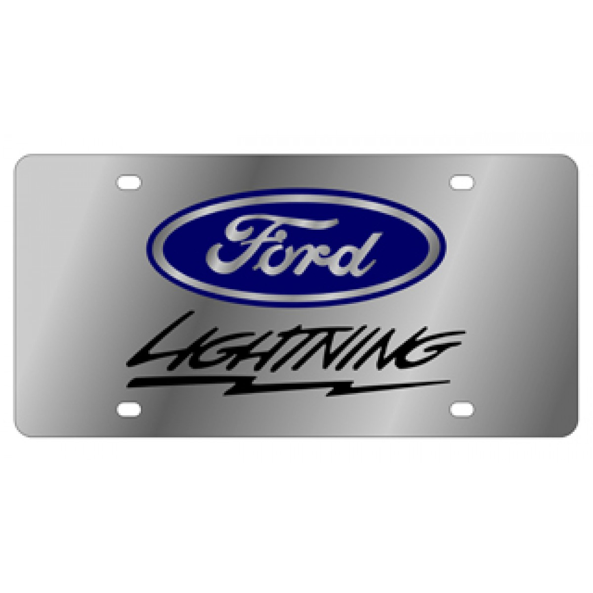 HossRods com | Ford Lightning License Plate - Lazer Style