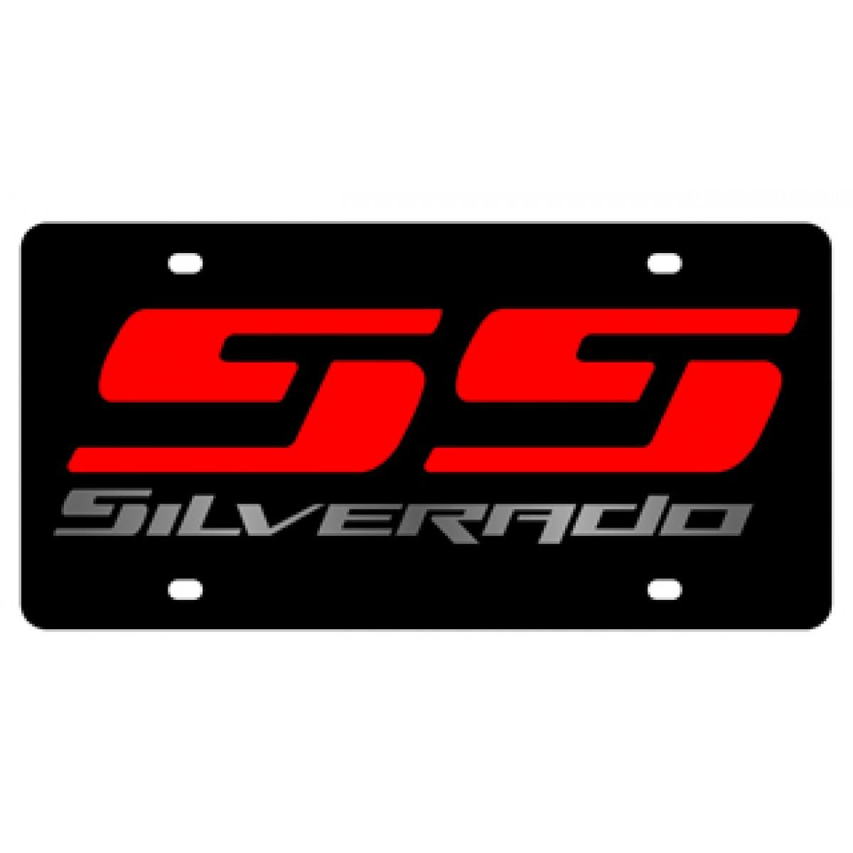 Hossrods Chevrolet Silverado Ss Lazer Style License Plate