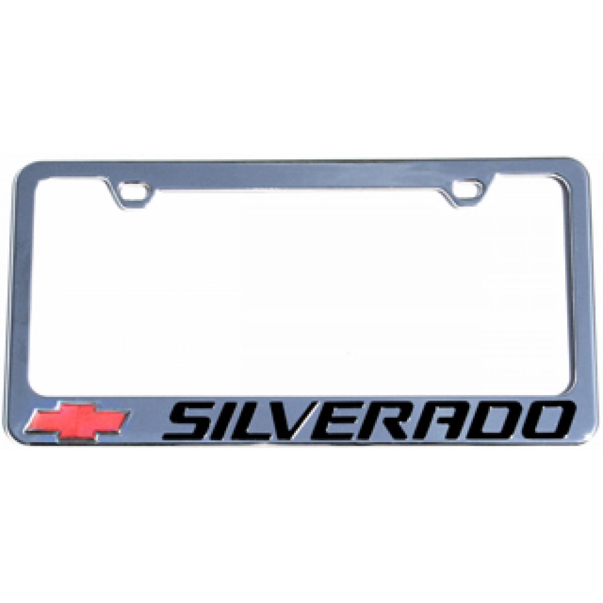 HossRods.com | Chevy Silverado License Plate Frame - License Plate ...