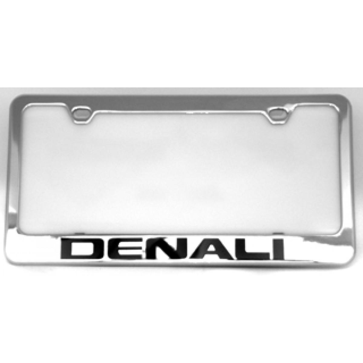 HossRods.com | GMC Denali License Plate Frame - License Plate Frames ...