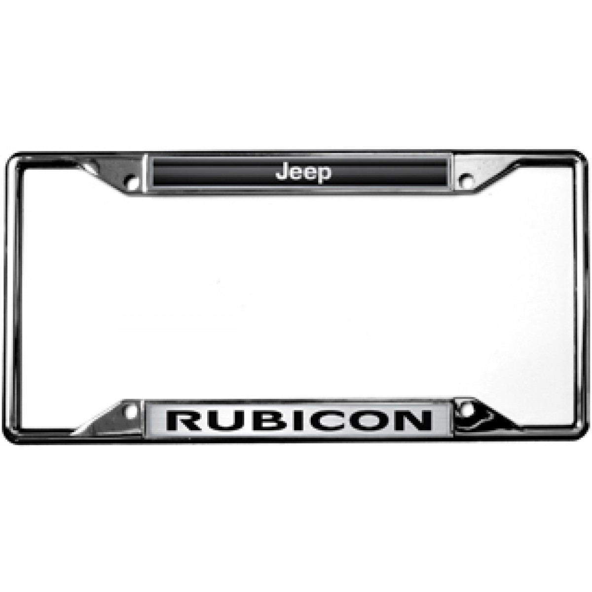 Jeep license plates and frames