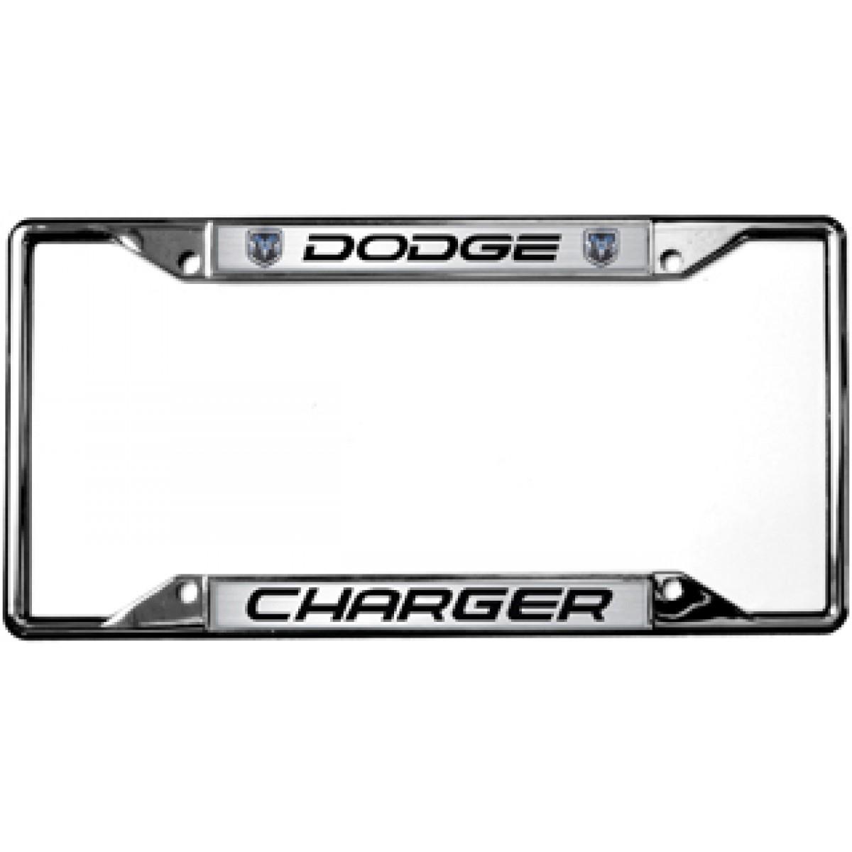 HossRods.com | Dodge Charger License Plate Frame - License Plate ...