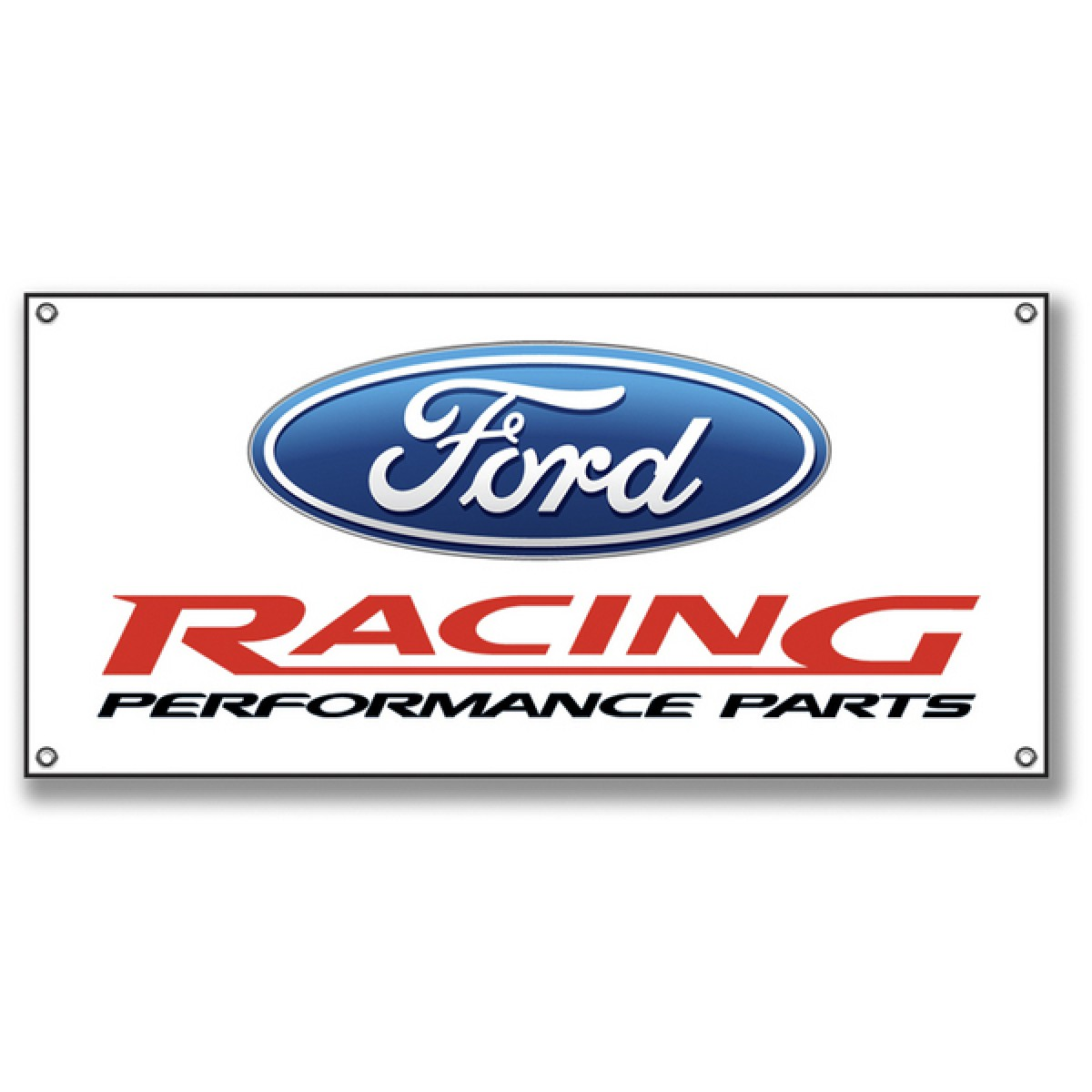 ford racing performance parts sign small. Black Bedroom Furniture Sets. Home Design Ideas