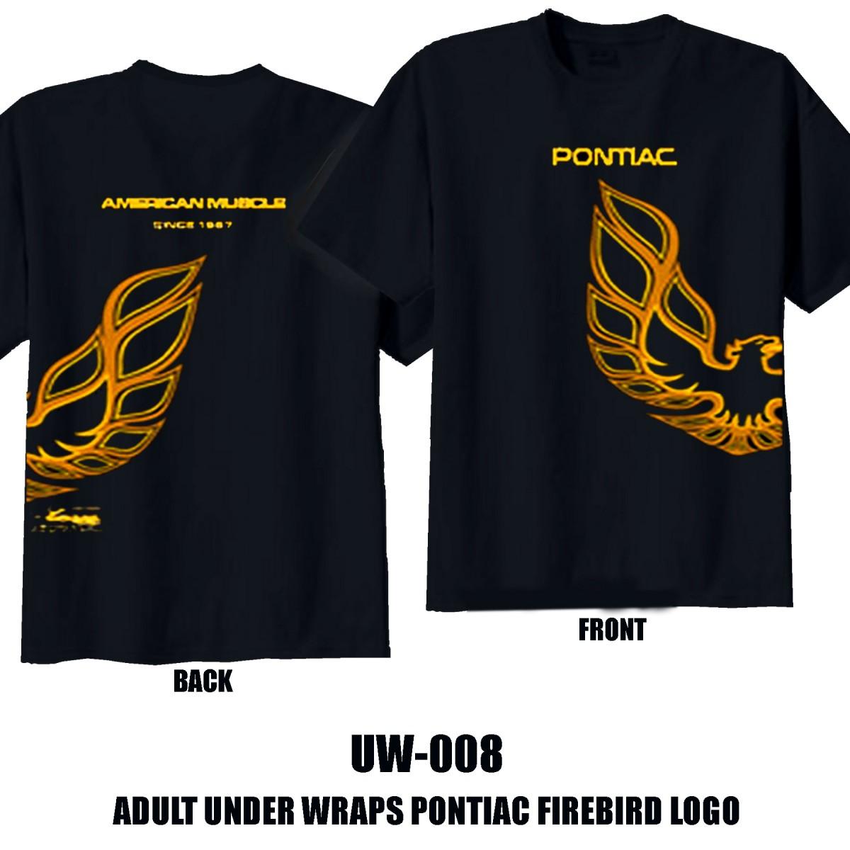HossRods.com | Pontiac Firebird T Shirt | Hot Rod Accessories, Garage Gear, and More