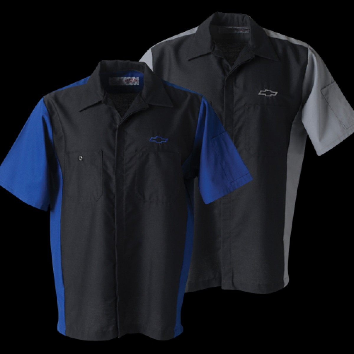 Hossrods Chevy Work Shirt With Chevy Bowtie Hot Rod