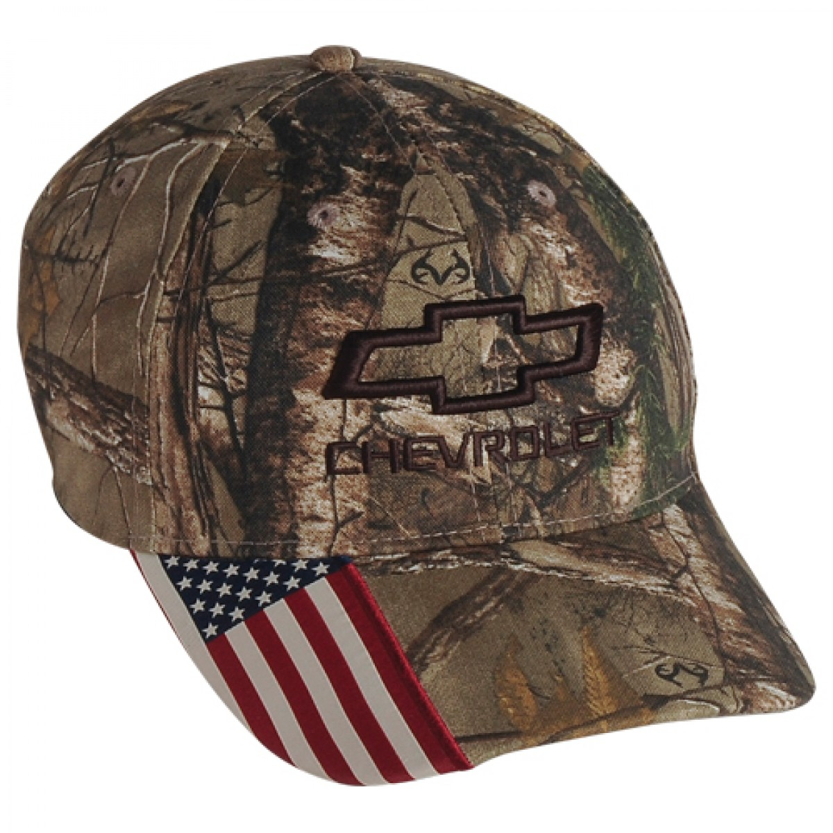 Hossrods Com Chevy Camo Hat With American Flag By Real