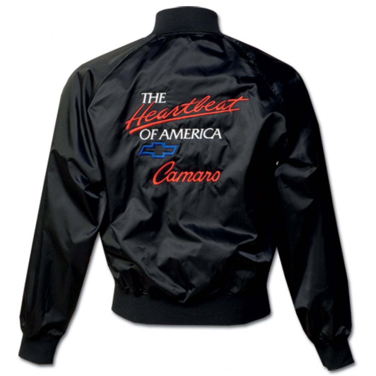 Heartbeat of america with camaro satin jacket