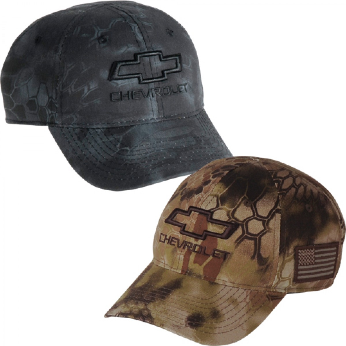 HossRods com | Chevy 3D Tactical Camo Hat | Hot Rod