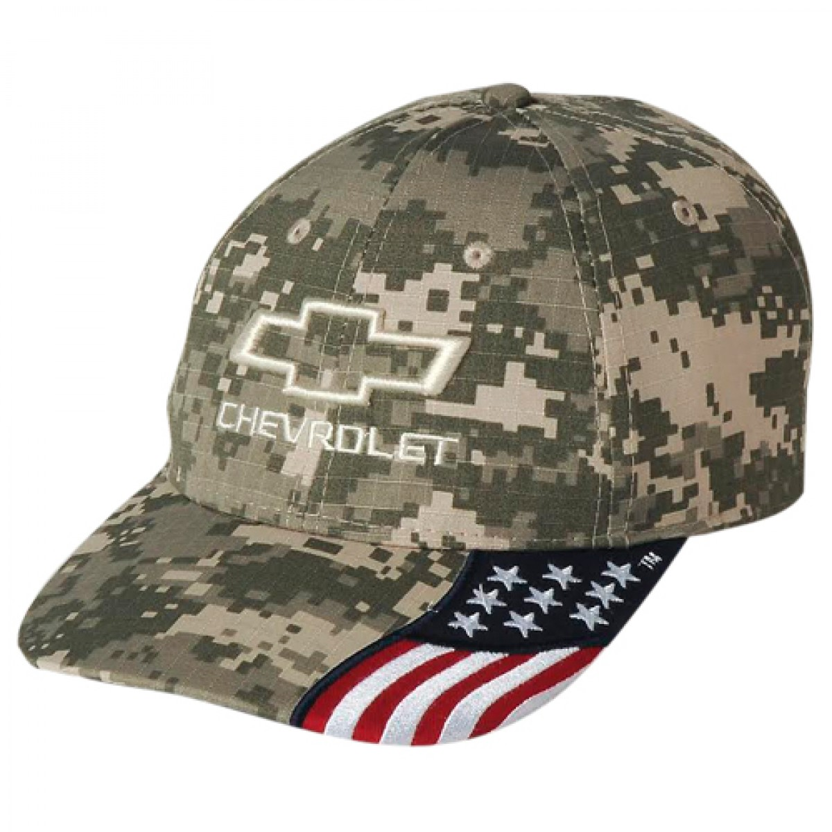 Chevrolet Camo Flag Hat