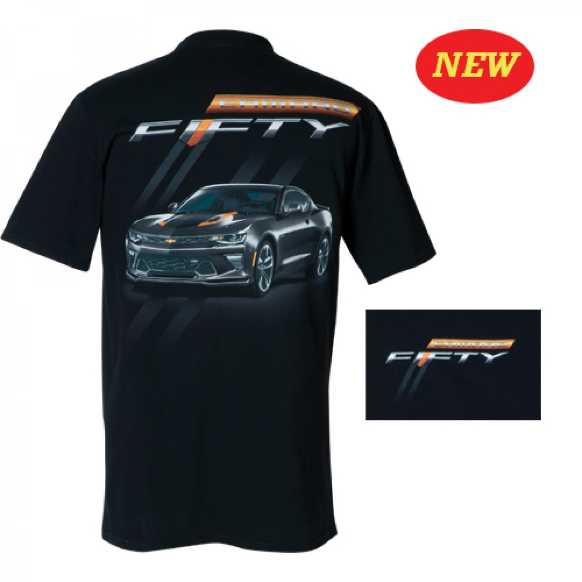 c6649857f HossRods.com | 50th Anniversary Camaro T Shirt | Hot Rod Accessories ...