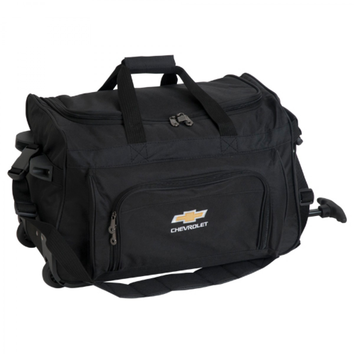 579444b53778 Chevrolet Vanguard Rolling Duffel Bag with Gold Bowtie