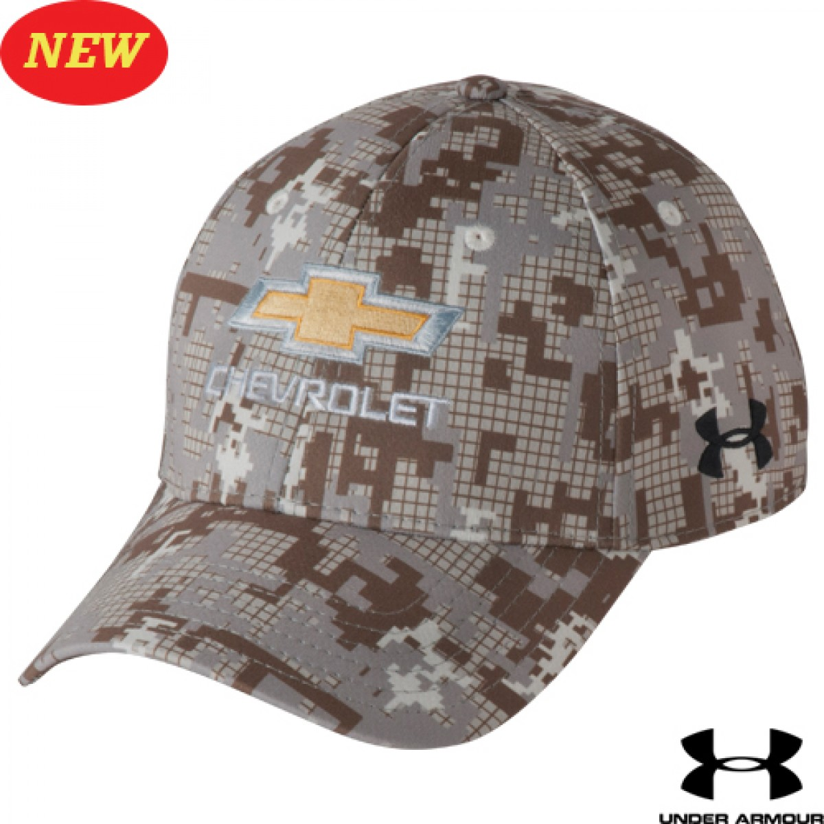 f96f8f15b31 ... new style chevrolet under armour digi camo hat with gold bowtie 8c354  bf5c2