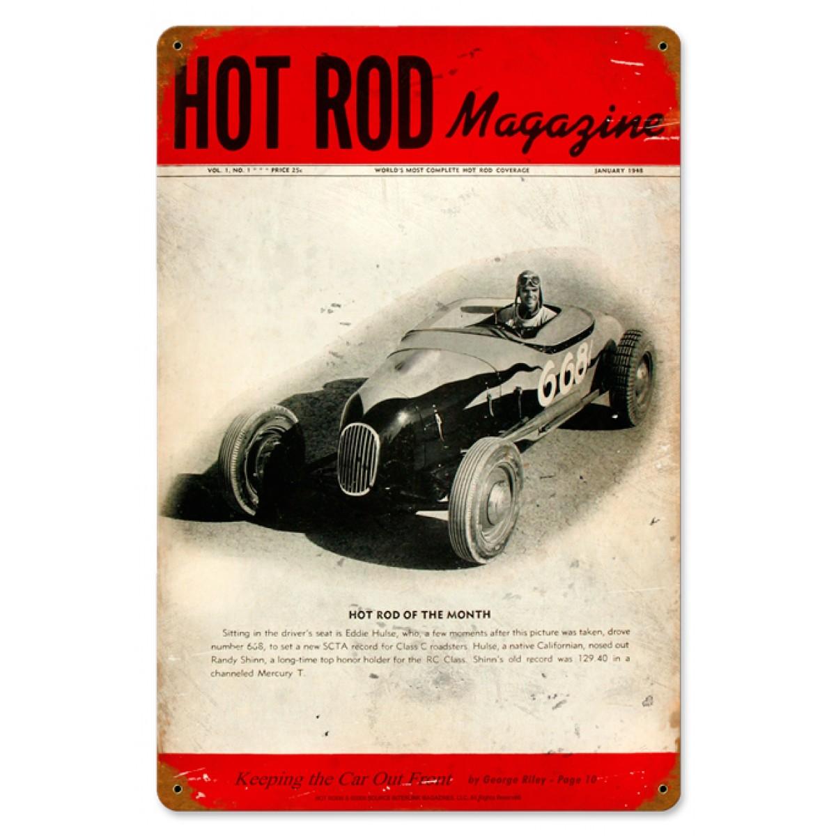 Hot Rod Magazine - Jan. 1971 , Chevy
