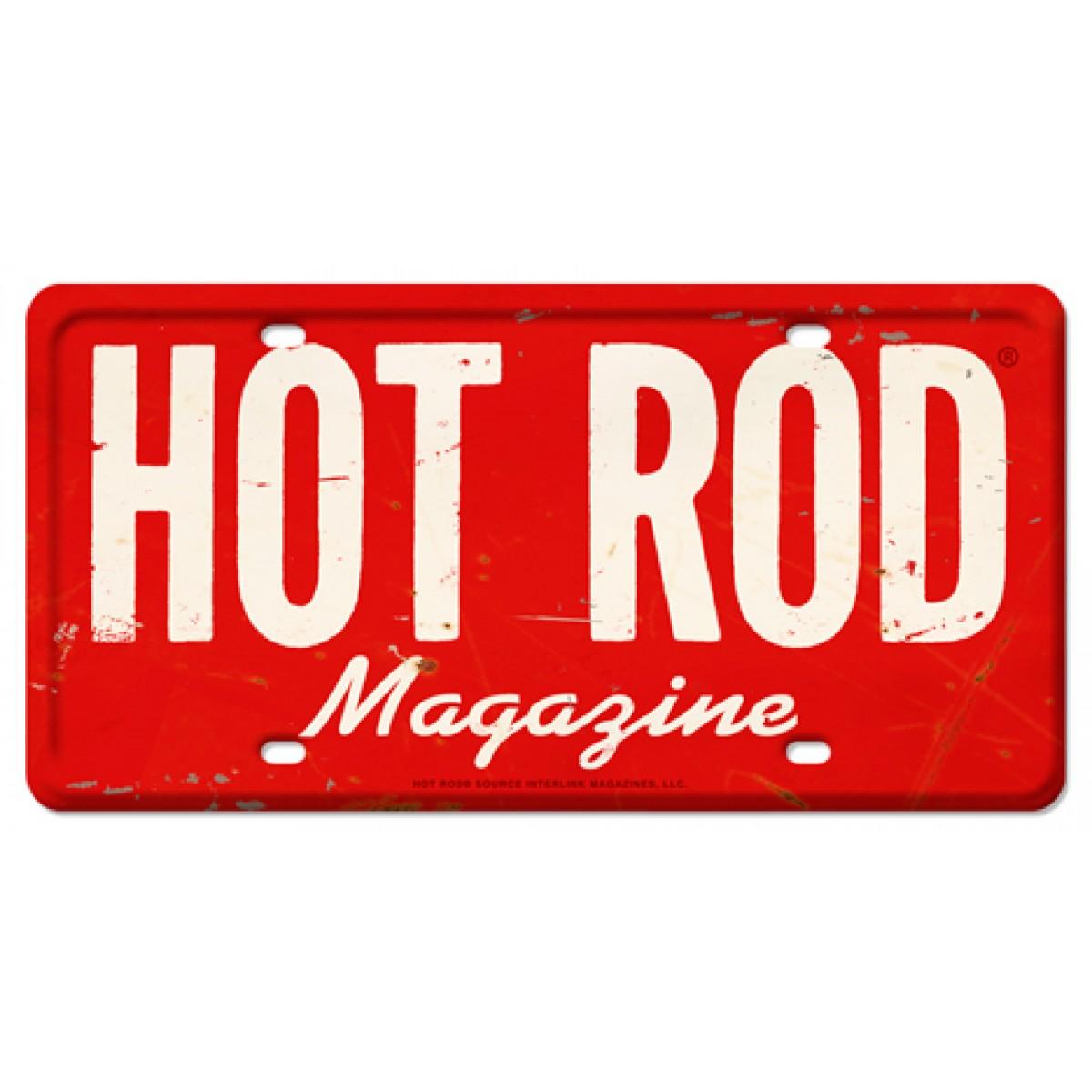 HossRods.com | HOT ROD Magazine Vintage License Plate | Hot Rod ...