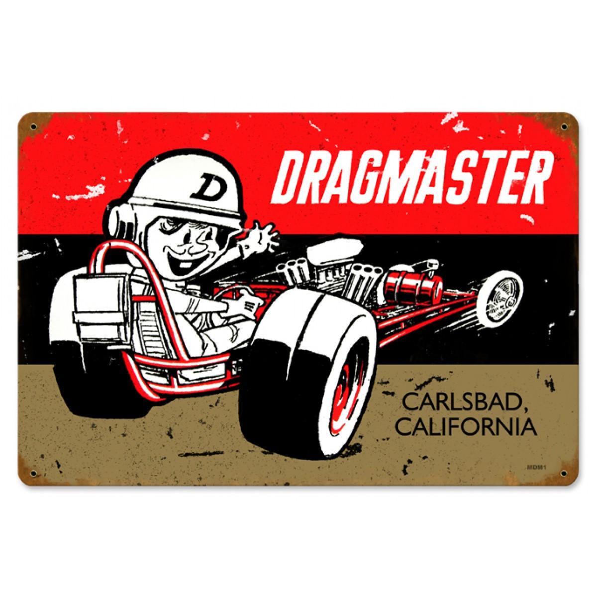 Dragmaster - Hot Rod Garage - Metal Signs
