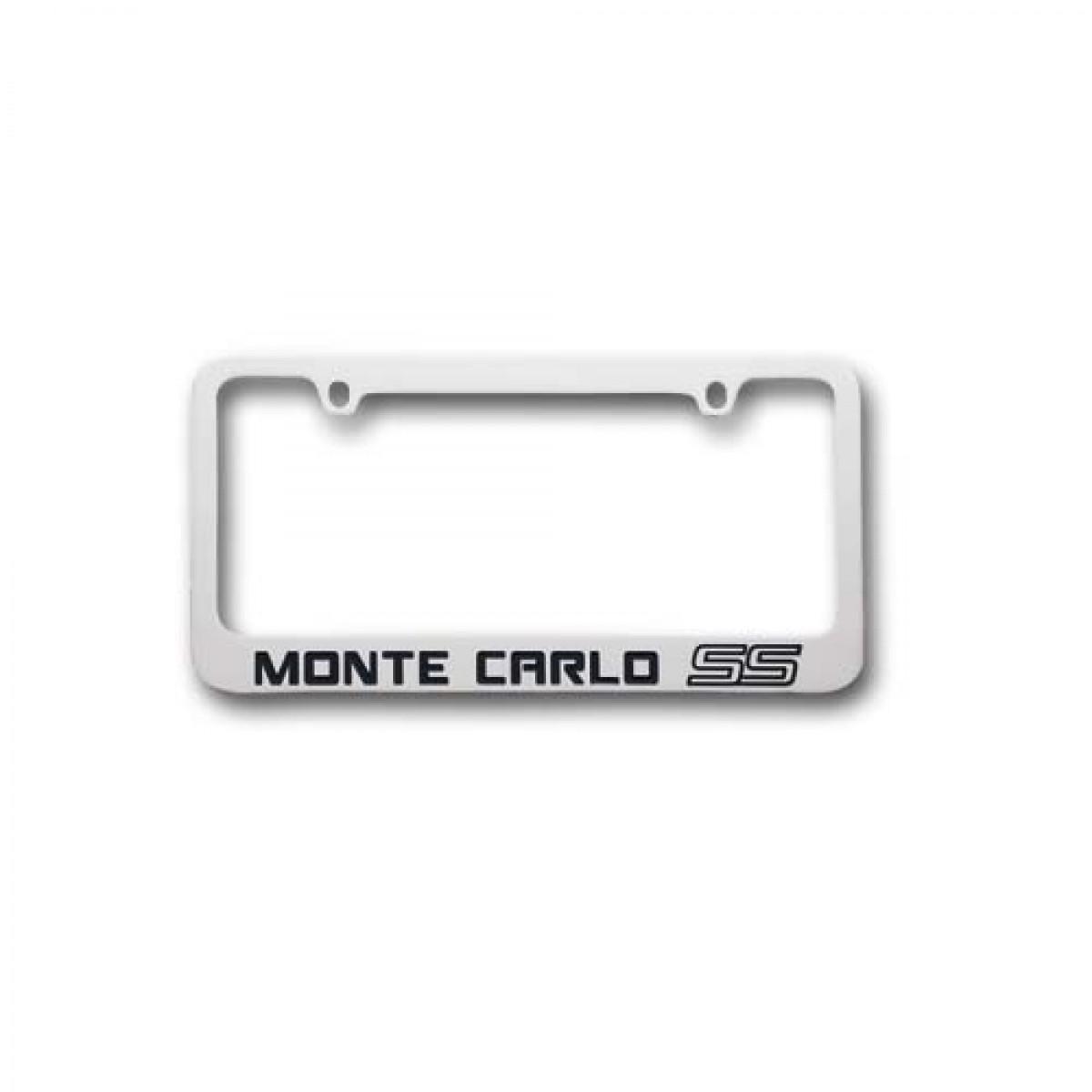 HossRods.com | Chevy Monte Carlo SS License Plate Frame Chrome | Hot ...