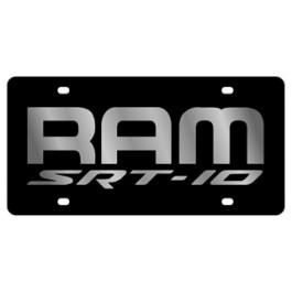 Dodge Ram SRT-10 License Plate - Lazer Style