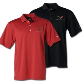 C7 Corvette Dri Fit Polo by Nike