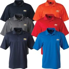 Chevrolet Reebok Playdry Polo with Gold Bowtie