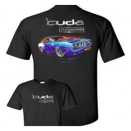 Plymouth Cuda T Shirt