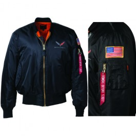 C7 Corvette Premium Military Style Nylon Jacket