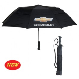 Chevrolet Golf Umbrella with Gold Bowtie