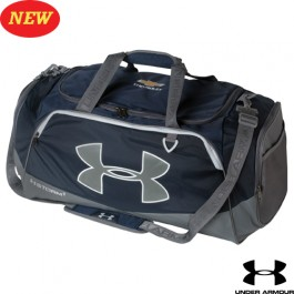 Chevrolet Under Armour Duffel Bag with Gold Bowtie