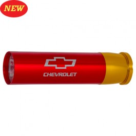 Chevrolet Shotgun Shell Case Flashlight with Bowtie