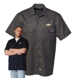 Chevrolet Work Shirt with Chevy Bowtie by Dickies
