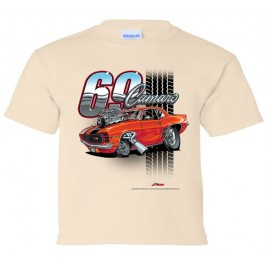 Youth 69 Camaro Tooned Up T Shirt