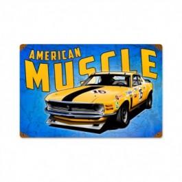 Mustang Wild America Sign