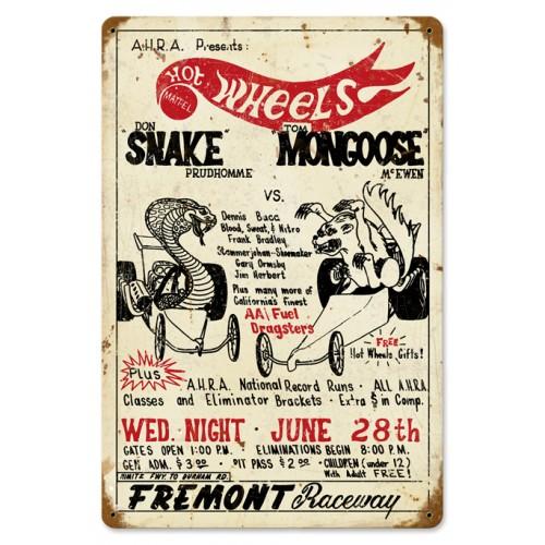 snake v mongoose from the don prudhomme. Black Bedroom Furniture Sets. Home Design Ideas