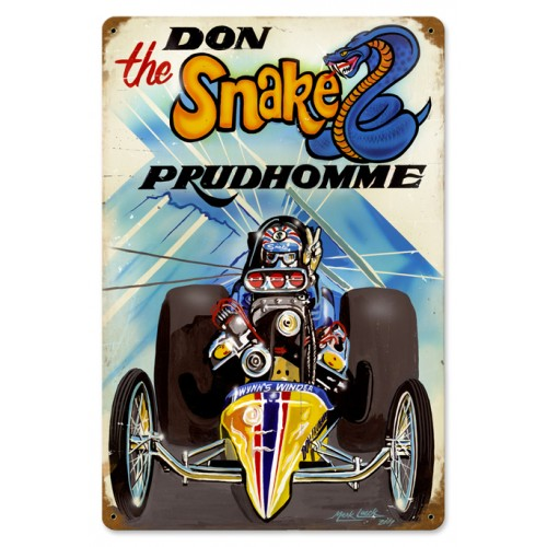 the snake sign from the don prudhomme. Black Bedroom Furniture Sets. Home Design Ideas