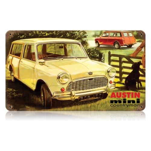 Austin mini countryman hot rod garage for Garage austin mini