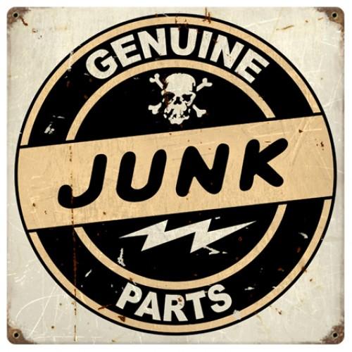 Hossrods Com Junk Parts Hot Rod Garage Metal Signs