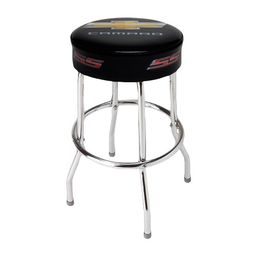 chevy camaro ss counter stool hot rod