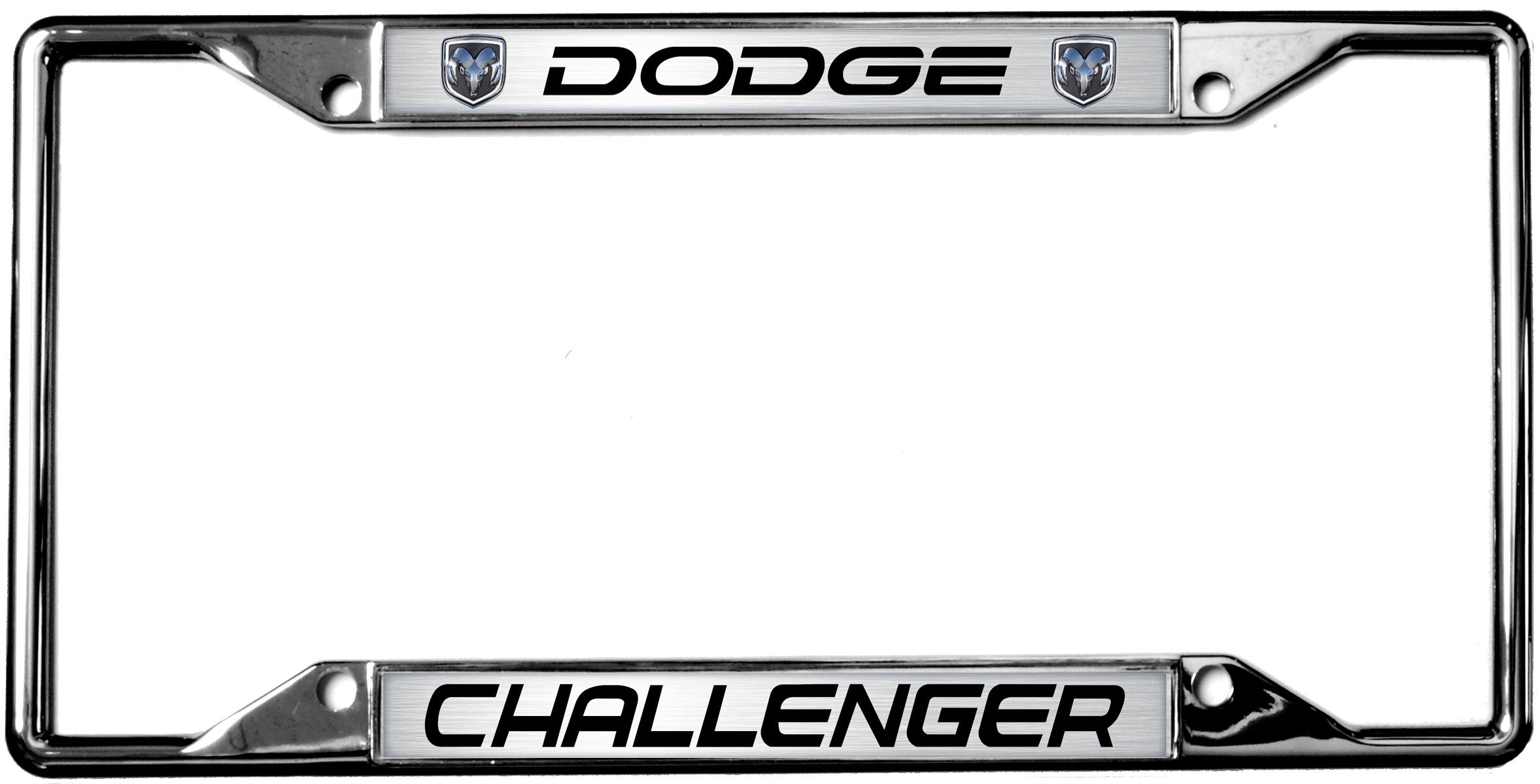 HossRods.com   Dodge Challenger License Plate Frame   Hot Rod ...