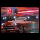 Nifty 50s Neon/LED Picture