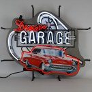 57 Chevy Dream Garage Neon Sign