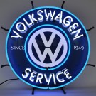 Volkswagen Service Neon Sign