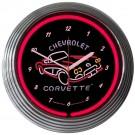 C1 Corvette Neon Clock