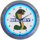 Ford Shelby Cobra OLP Mustang Neon Clock