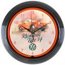 Volkswagen Karmann Neon Clock