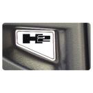 Hummer H2 2 Piece Front Bumper Insert Set