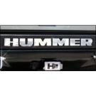 Hummer H2 Bumper Letter Inserts