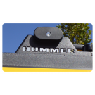Hummer H2 Roof Rack Letter Inserts