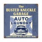Car Wash Sign by Busted Knuckle 12 x 12