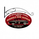 Miracle Car Repair Sign by Busted Knuckle 24 x 14
