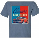 1st Generation 67 Camaro Nation T Shirt